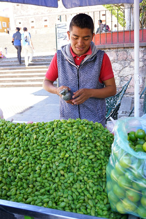 Guanajuato Street Vendor