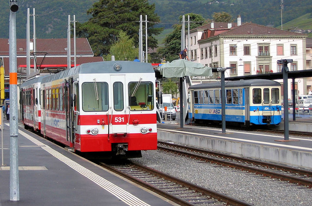 Transports Publics du Chablais - Aigle Station Rebuilding 1