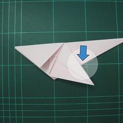 การพับกระดาษเป็นไดโนเสาร์ทีเร็กซ์ (Origami Tyrannosaurus Rex) 024