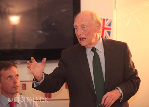 Neil Kinnock in Reading