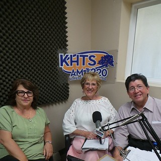 Rosemary Murphy of Beyond Harmony joins the Senior Hour with Hosts, Barbara Cochran and Dr. Gene Dorio live on your hometown station AM-1220 KHTS! #tanning #healthyliving #seniors #aging #politics #spa | by KHTS Radio