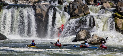 Racing Down the Great Falls | by Rob Shenk