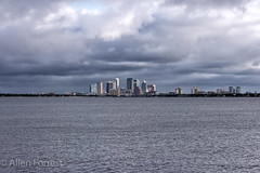 City of Tampa Skyline