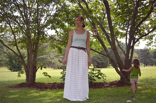 knit maxi skirt   by hungie gungie