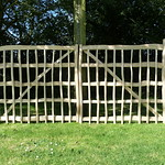 Cleft Oak gates