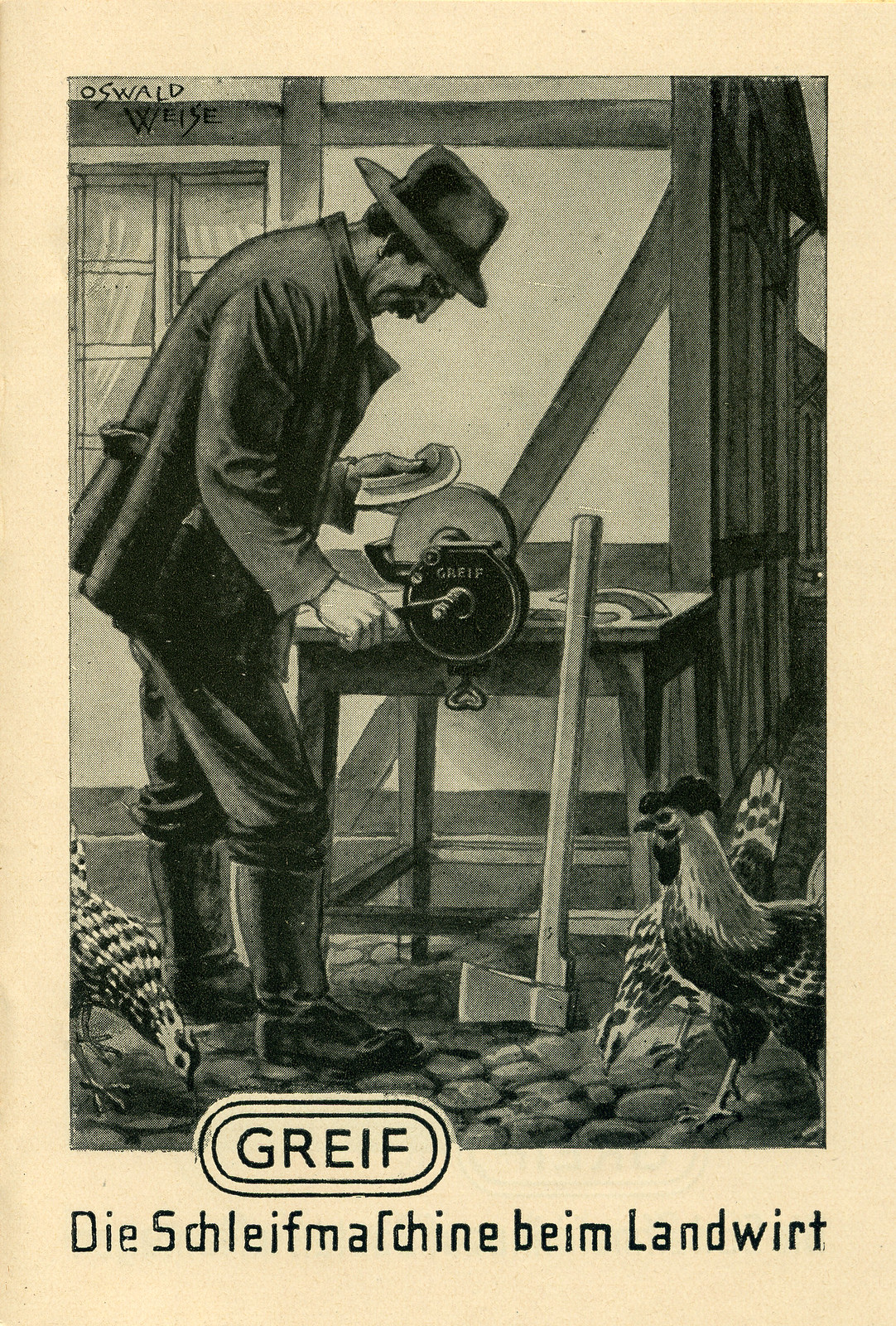 Werbeheftchen für Greif Schleifmaschinen, Bild 8