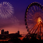 Navy Pier fireworks