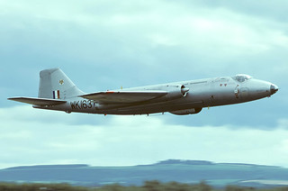 WK163 Canberra B2 , RAE MOD(PE) Bedford, Greenham Common, IAT 77   by Stuart Freer - Touchdown Aviation