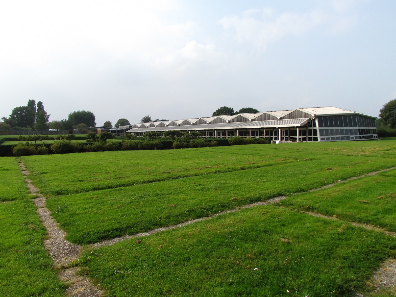photo from walk Fishbourne roman palace (remains of!)