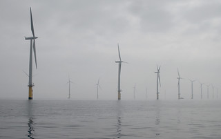 Teeside Offshore Wind Farm | by howzey