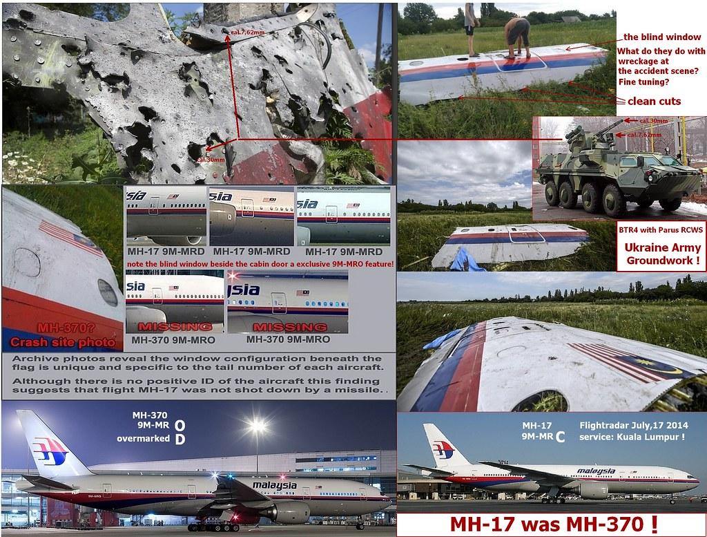 MH-17 = MH-370