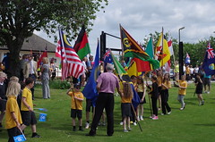 Queen's Baton Relay, Castle Douglas