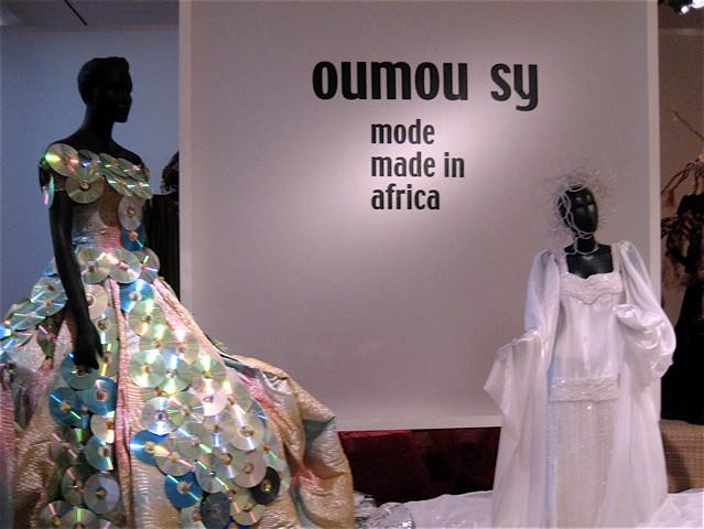 African high fashion in Hamburg museum