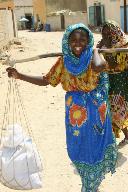 Kunama woman - Barentu Eritrea