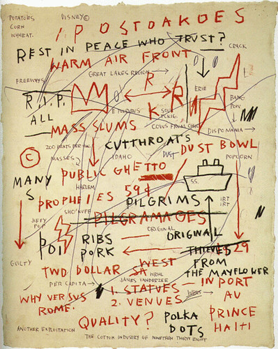Jean-Michel Basquiat- Quality | by thegoddesscleo