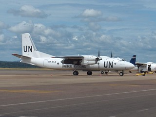 UN MONUC at Entebbe Airport | by John & Mel Kots