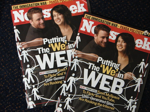 Flickr Cofounders on the Cover of Newsweek | by ZenzenOK