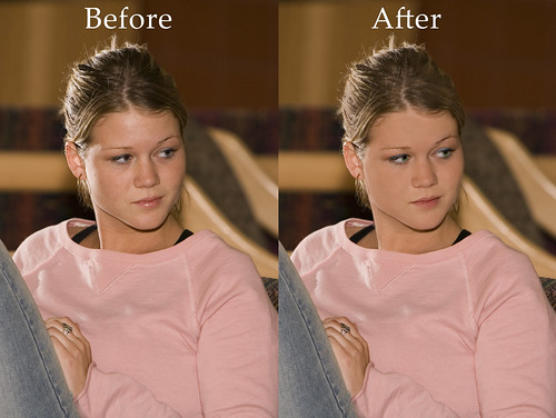 before and after Photoshop | by awillard