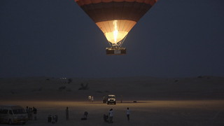 World-First Hot Air Balloon Falconry Adventure in Dubai | by landrovermena