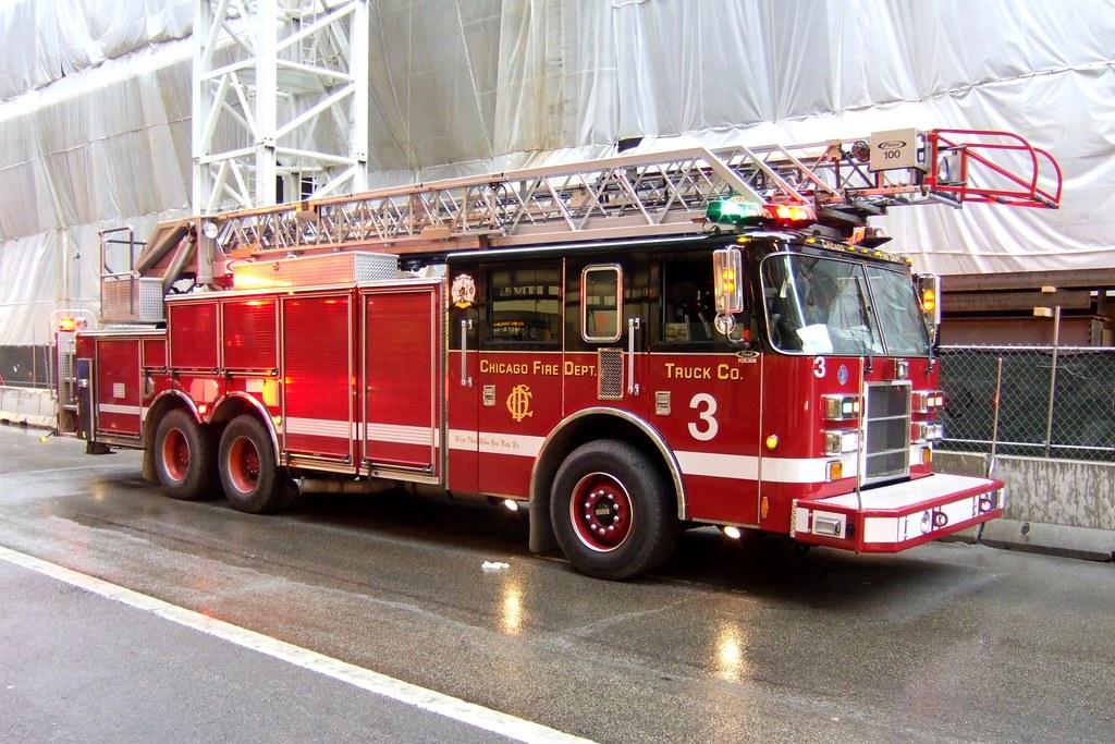 Chicago Fire Department Truck 3 Chicago Illinois Pierc Flickr