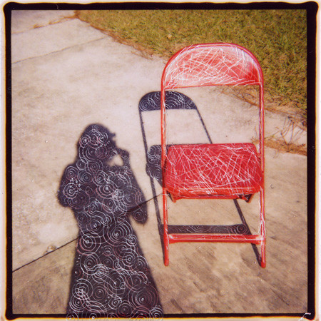 red chair project: shadow | by Kira Gondeck-Silvia