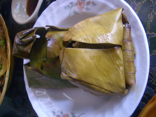 Raw Pork Fermented in Banana Leaves - Very Tasty! | by Kenny McColl