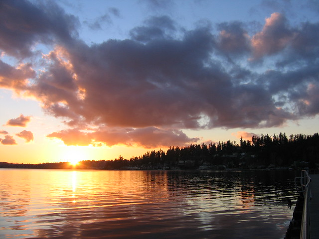 Sunset - Juanita Beach