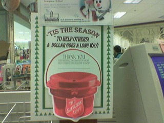 McCaffrey's Salvation Army Sign