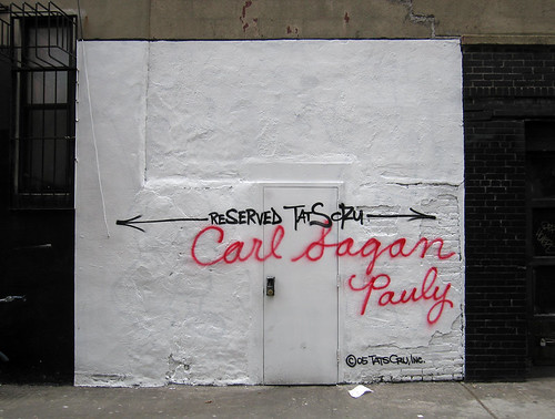 Carl Sagan | by jschumacher
