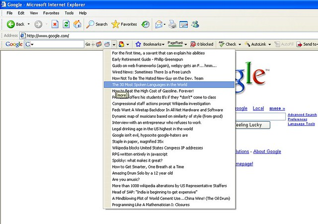 reddit on Google Toolbar | wow  so cool  | alexis ohanian