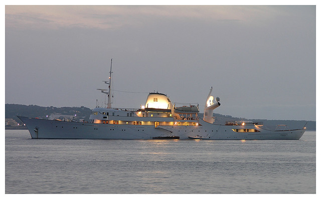 Ship in San Antonio