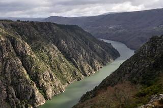 Río Sil, desde el mirador de los Balcones de Madrid