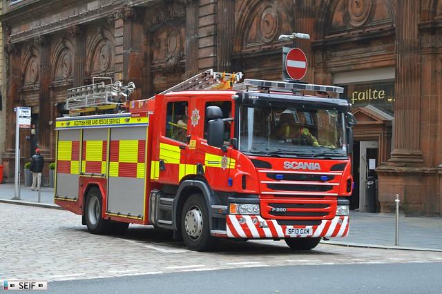 Scania P280 Glasgow 2015
