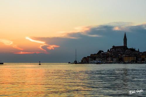 Sunset in Rovinj   by Blaž Vizjak