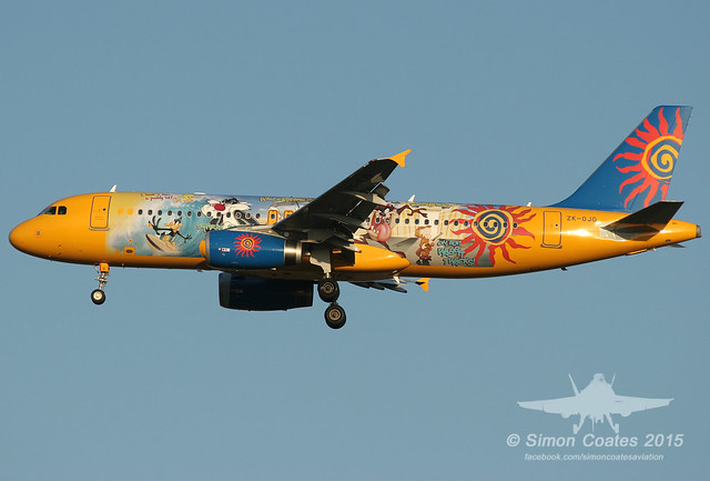 ZK-OJO A320 FREEDOM AIR