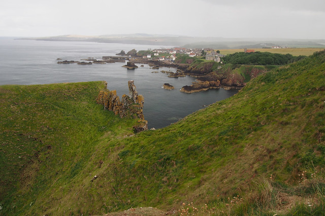 View to St Abbs from St Abbs Head