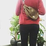 バイカーズヒップバッグ:REDMOON  RM-BBS SGO(ソフトレザー ゴールデンオリーブ) . . 秋冬にぴったりなゴールデンオリーブ♡ 人気のバイカーズバッグはコンパクトで持ち歩きに便利です。 . .