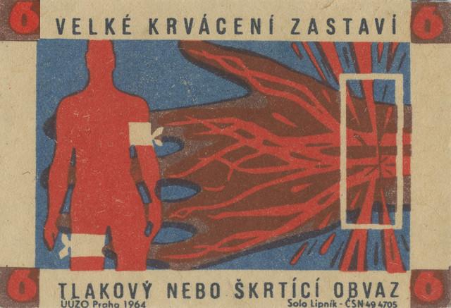 czeslovakian matchbox labels