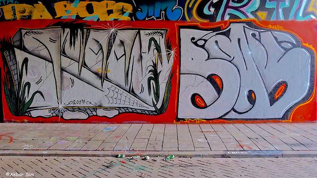 Den Haag Graffiti : STEEN & BEAPS