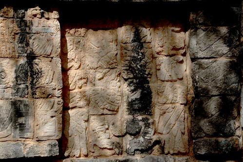 The Ossuary, TheTomb of the High Priest, Chichen Itza, Mexico's Yucatán Peninsula