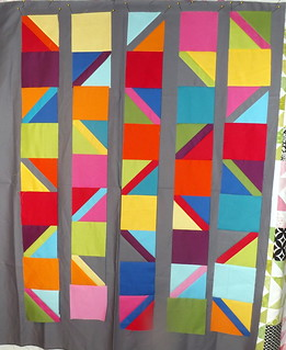 From an Unquiet Mind - Testing Strips | by Grey Cat Quilts