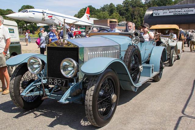 Brooklands Great War 100 - 1913 Rolls-Royce Silver Ghost Alpine Tourer (R-827)