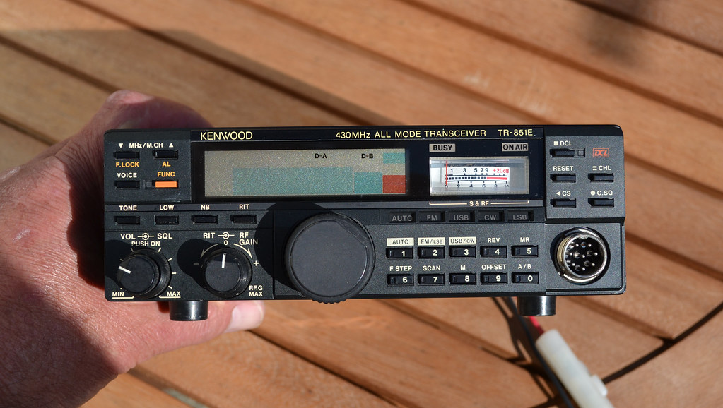 KENWOOD TR-851E UHF 430MHZ ALL MODE TRANSCEIVER