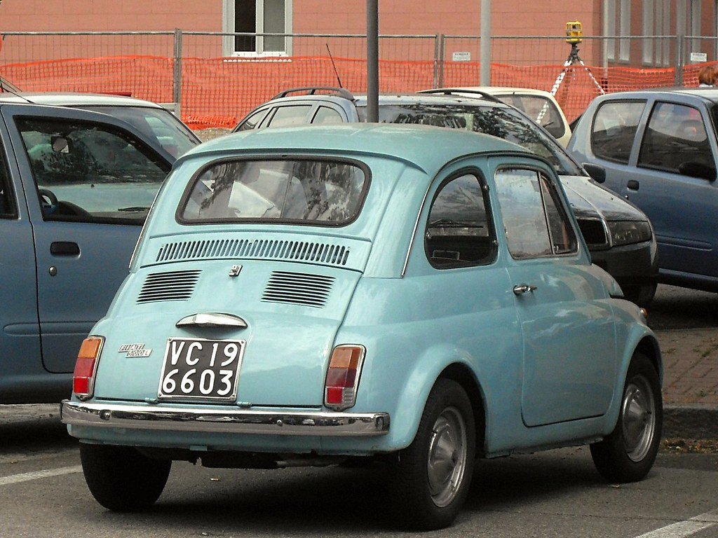 Fiat 500 My Car Francis Lombardi 1971 Data Immatricolazion Flickr