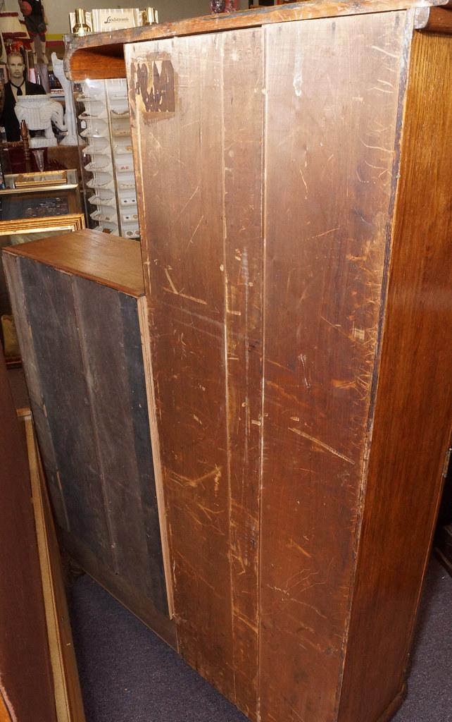 CH0072 Antique Oak Secretary DSC01374