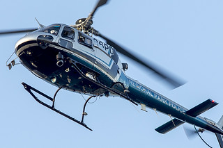 261/365  East Bay Regional Park District Police Eurocopter AS 350 B2