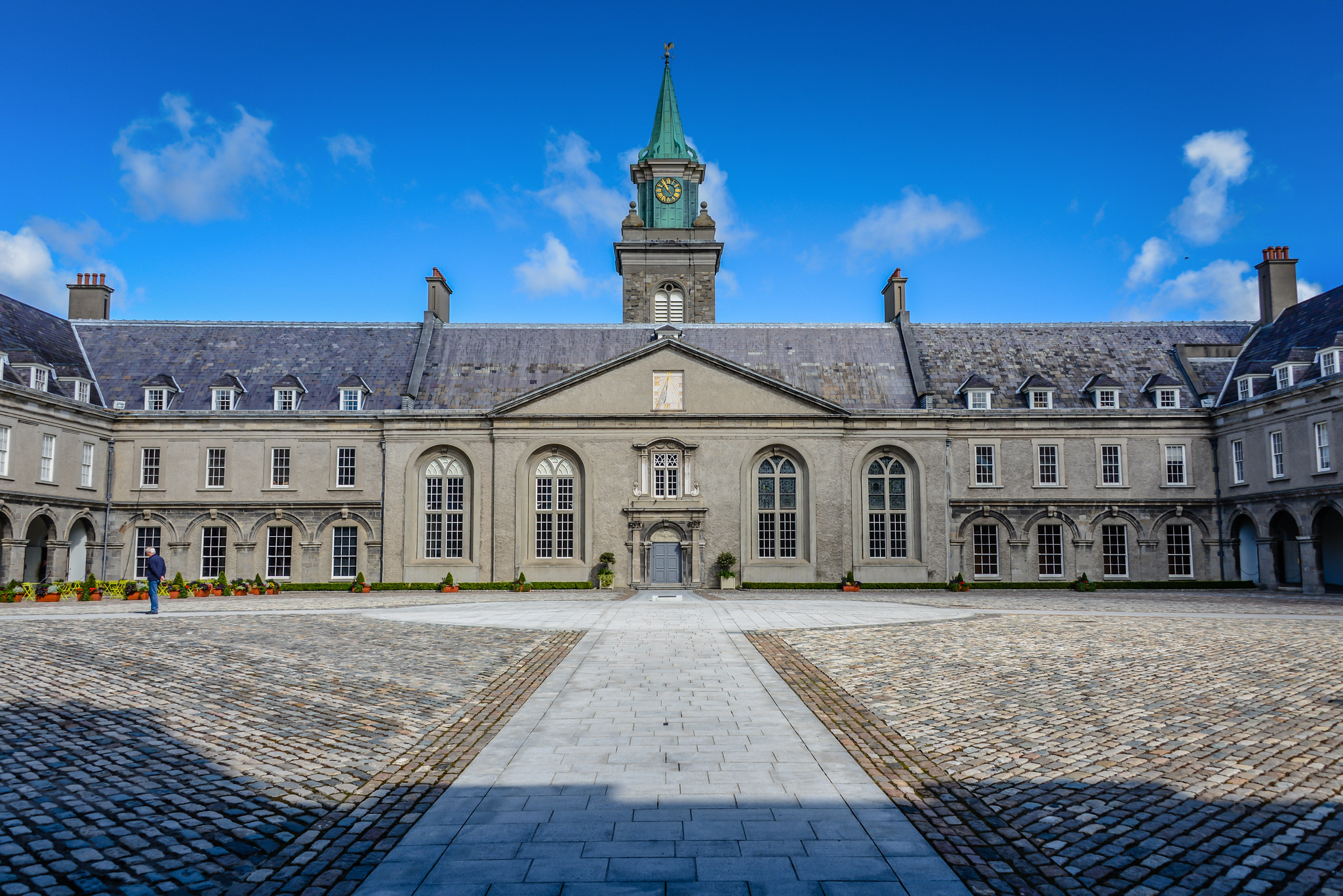 Irish Museum of Modern Art (Former Royal Hospital Kilmainham) - Dublin Ireland