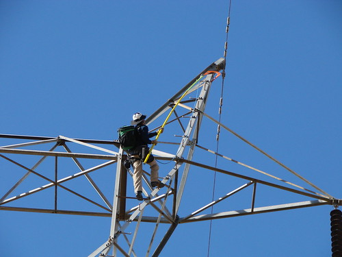 Fall protection field trials | by Western Area Power Admin
