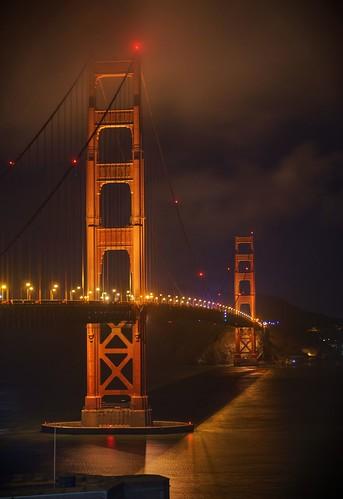 sanfrancisco bridge night raw cloudy goldengatebridge goldengate artdeco hdr internationalorange photomatix fav200 1xp nex6 sel50f18
