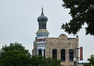 Most unusual building on the Georgetown Square